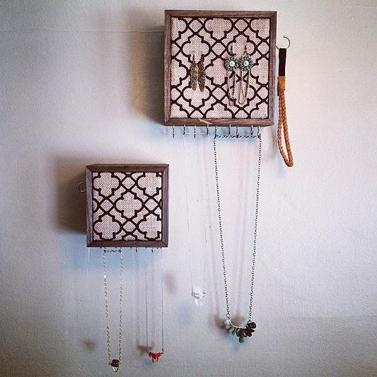 Jewelry Organizer Wall Hanging Service And Cost in Edinburg McAllen TX | Handyman Services of McAllen
