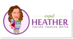 vietnam travel blogger, travel blog, logo link to expat heather