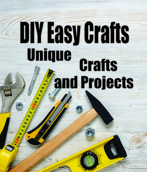 DIY easy crafts and projects. A complete assortment of unique easy DIY projects. www.DIYeasycrafts.com