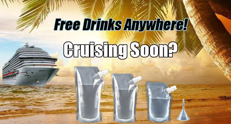 Sneak alcohol on a cruise Rum Runners