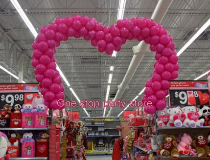 Heart Shape balloon arch