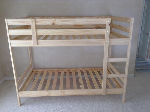 Fast Bunk Bed Frame Assembly Services | Lincoln Handyman Services