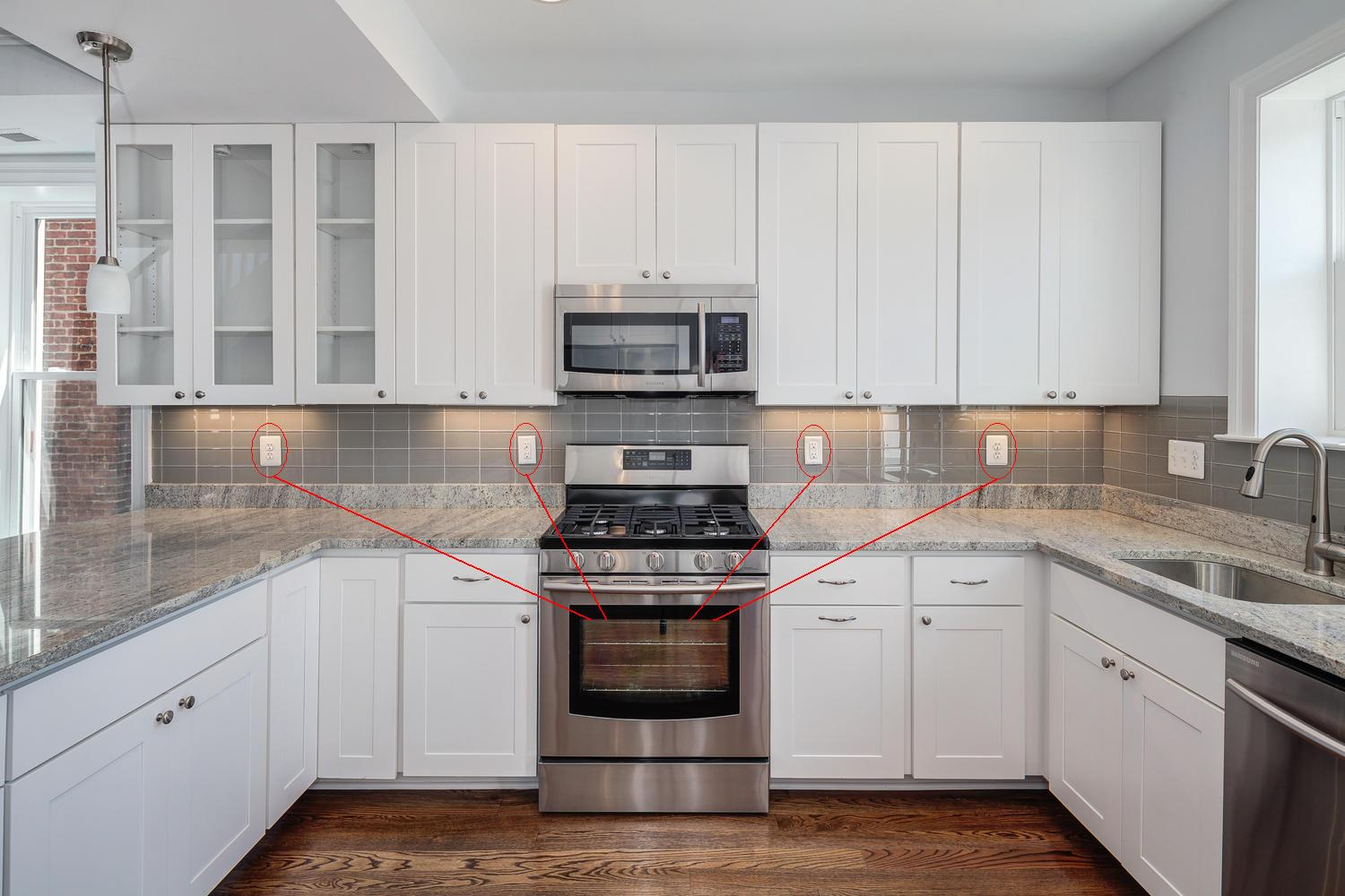Under Cabinet Outlets Kitchen Home