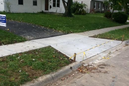 Leading Sidewalk Contractor Sidewalk Repair Services and cost in Bellevue NE | Lincoln Handyman Services