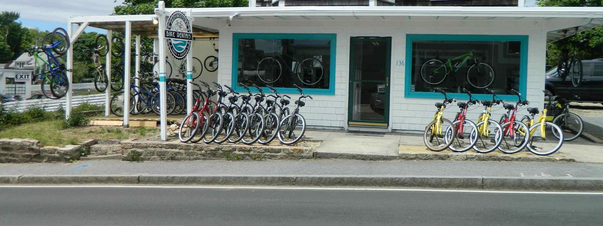 Our freshly renovated, fully stocked Bike Shop