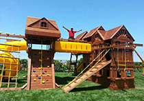 Outdoor Swing Set Assembly Services photo