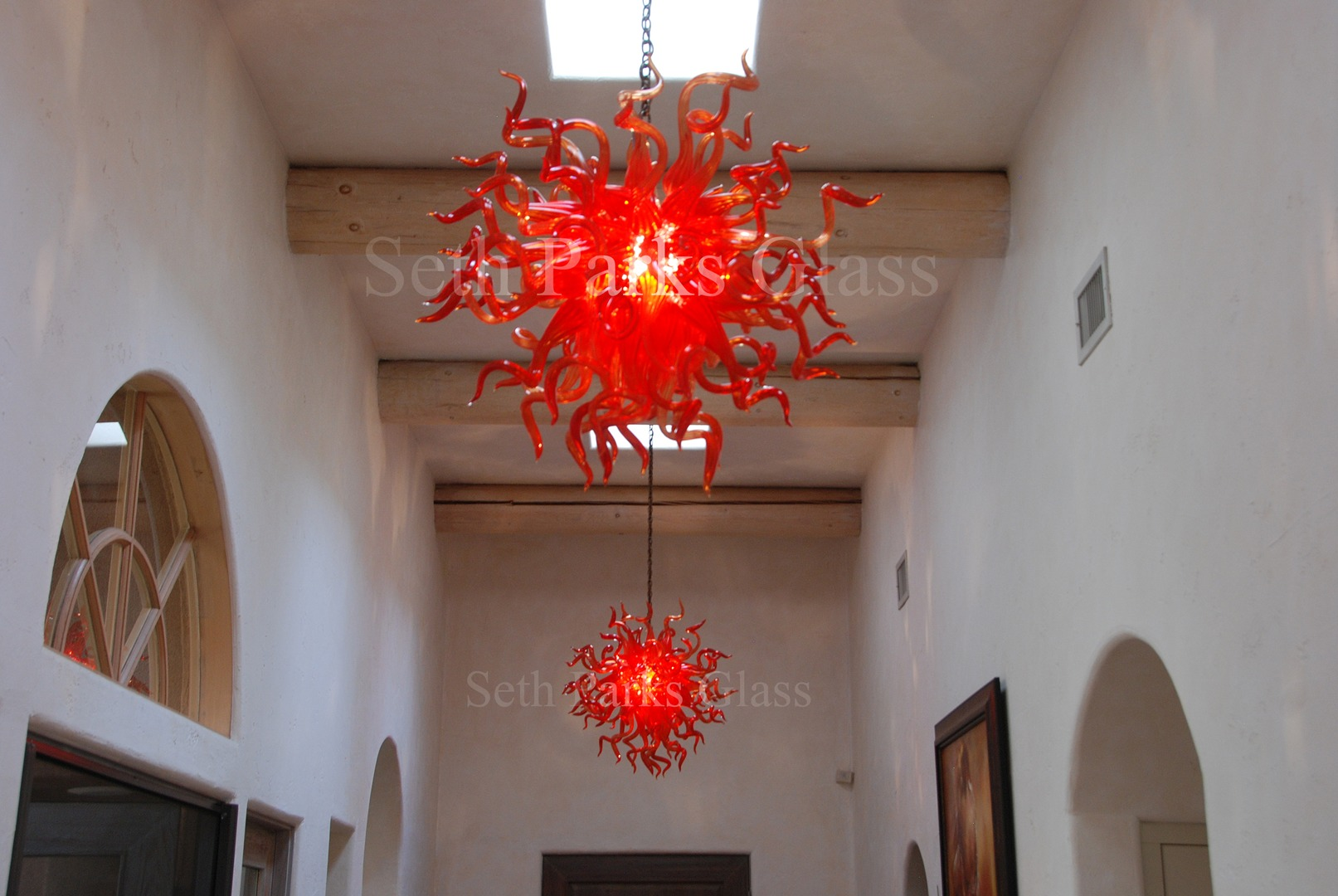 Hand blown glass chandeliers hand blown glass chandeliers view on mobile aloadofball Choice Image