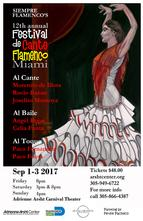 Miami events; Flamenco; Dance show