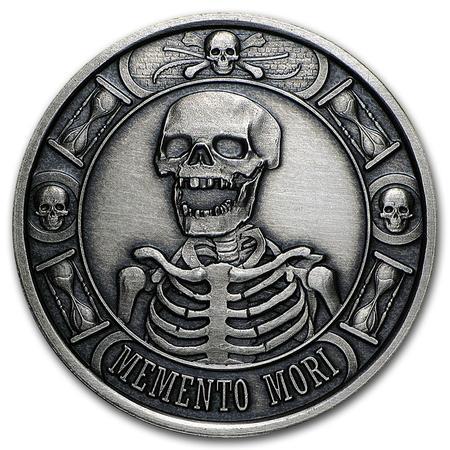 Memento Mori Antique Coin