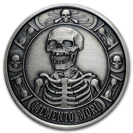 Memento Mori Antique Coin