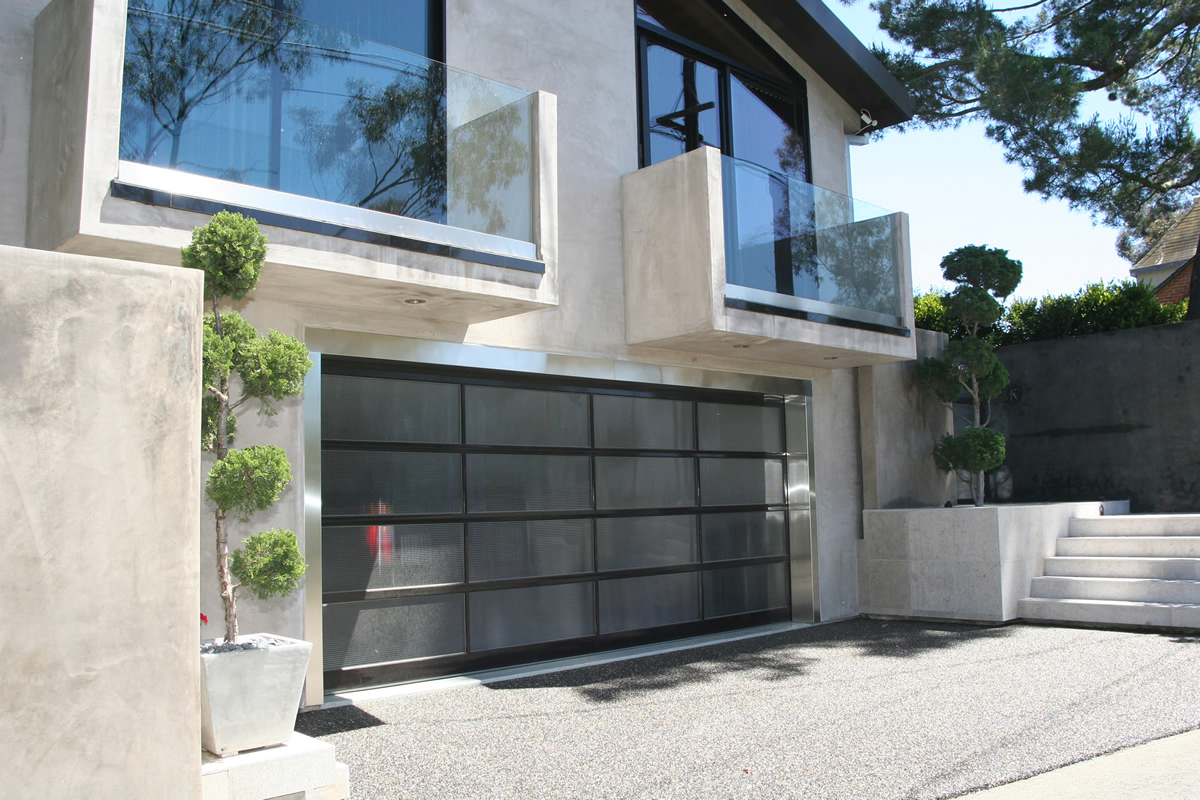 Modern garage door glass - Modern Garage Door Glass 41
