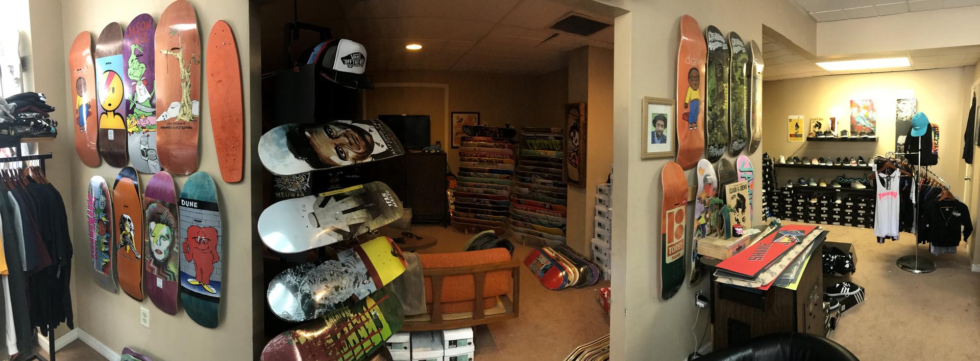 Mad Skate Shop Home