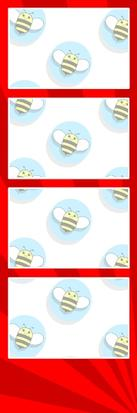 Bumblebee Booths Photo Strip sample #20