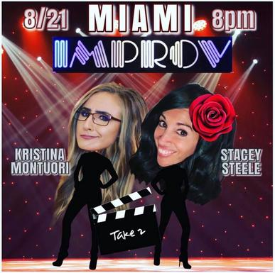 Get tickets for our Miami Improv show on 8.21