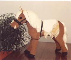 Custom handmade horse: 3ft.-$95-$125 4ft.-$160-$175