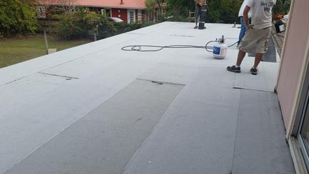 Torch down Flat Roof System