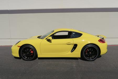 2014 Porsche Cayman S for sale at motor car company in San Diego California