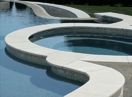 pools coping and pavers