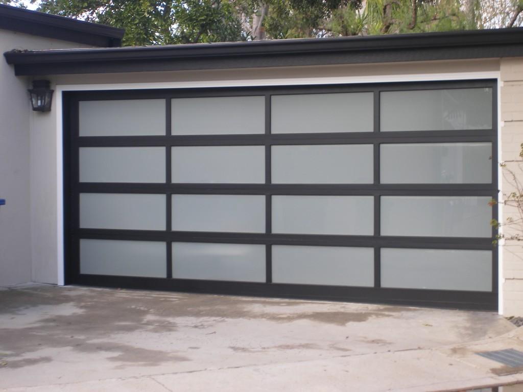 Modern garage door glass - Modern Garage Door Glass 8