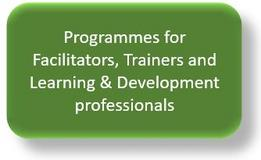 Programmes for Facilitators, Trainers and L&D professionals