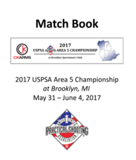 2017 Area 5 Matchbook