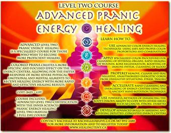 Advanced Pranic Energy Healing Level Two Certification