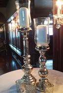 Mercury Glass Candlesticks Decor for Weddings