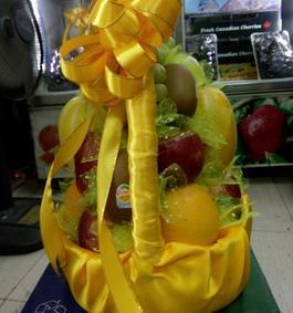 giỏ hoa quả nhập khẩu đẹp, giỏ hoa quả thắp hương tế lễ tại Hà Nội