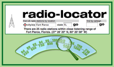 Radio Locator for St. Lucie County, Florida