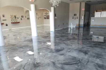Epoxy floor Mentor, Ohio