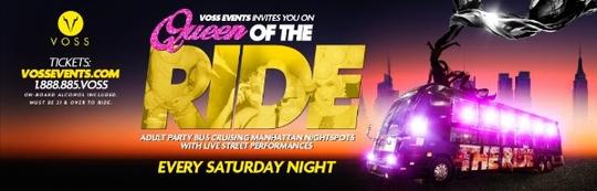 Queen of the Ride Every Saturday Night in NYC