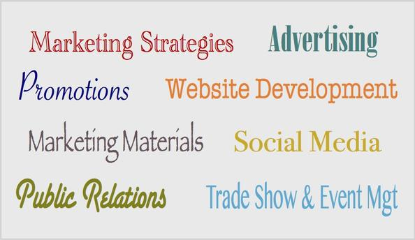 Advertising, marketing, public relations