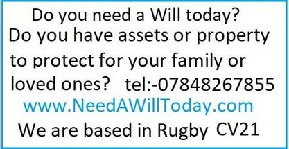 need a will today