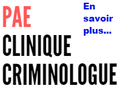 PAE avec la criminologue en clinique.