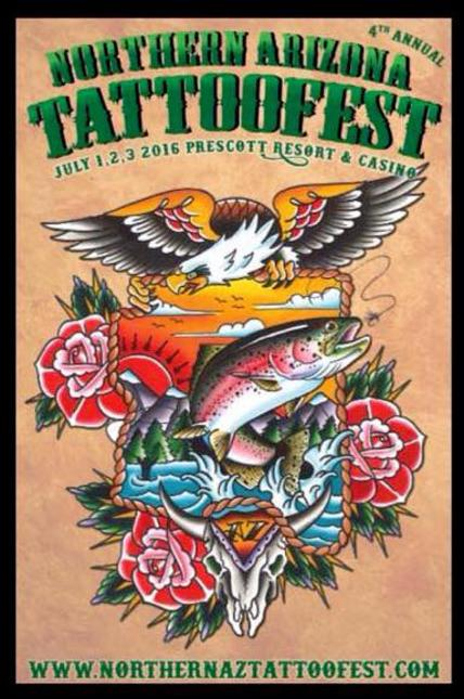 Northern Arizona Tattoo Fest Expo Convention