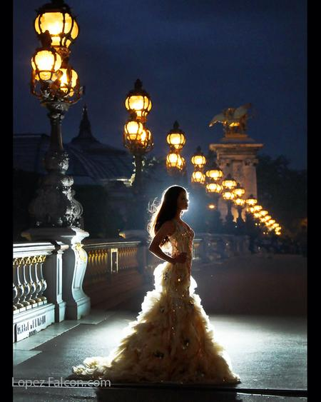 QUINCEANERA IN PARIS