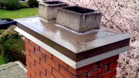 Excellent Chimney Crown Repair Service and Cost in Omaha Nebraska| Lincoln Handyman Services