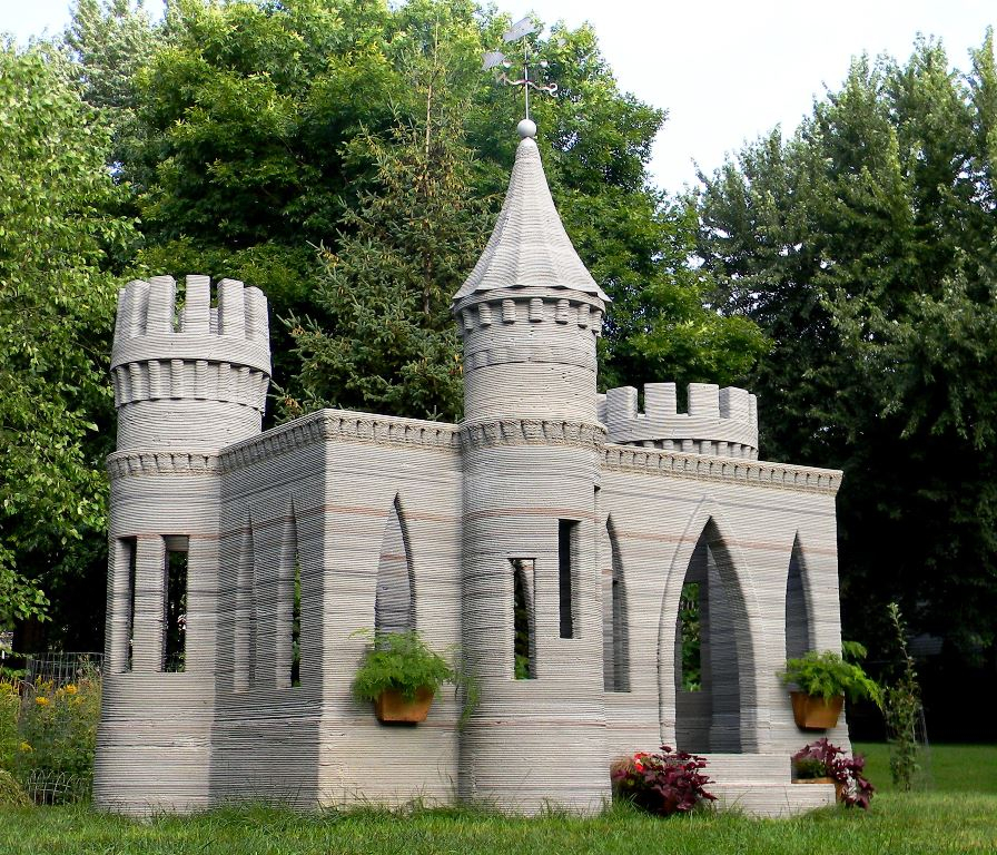 3d castle completed for Castle homes