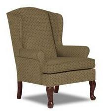 Doris Queen Anne Wing Chair