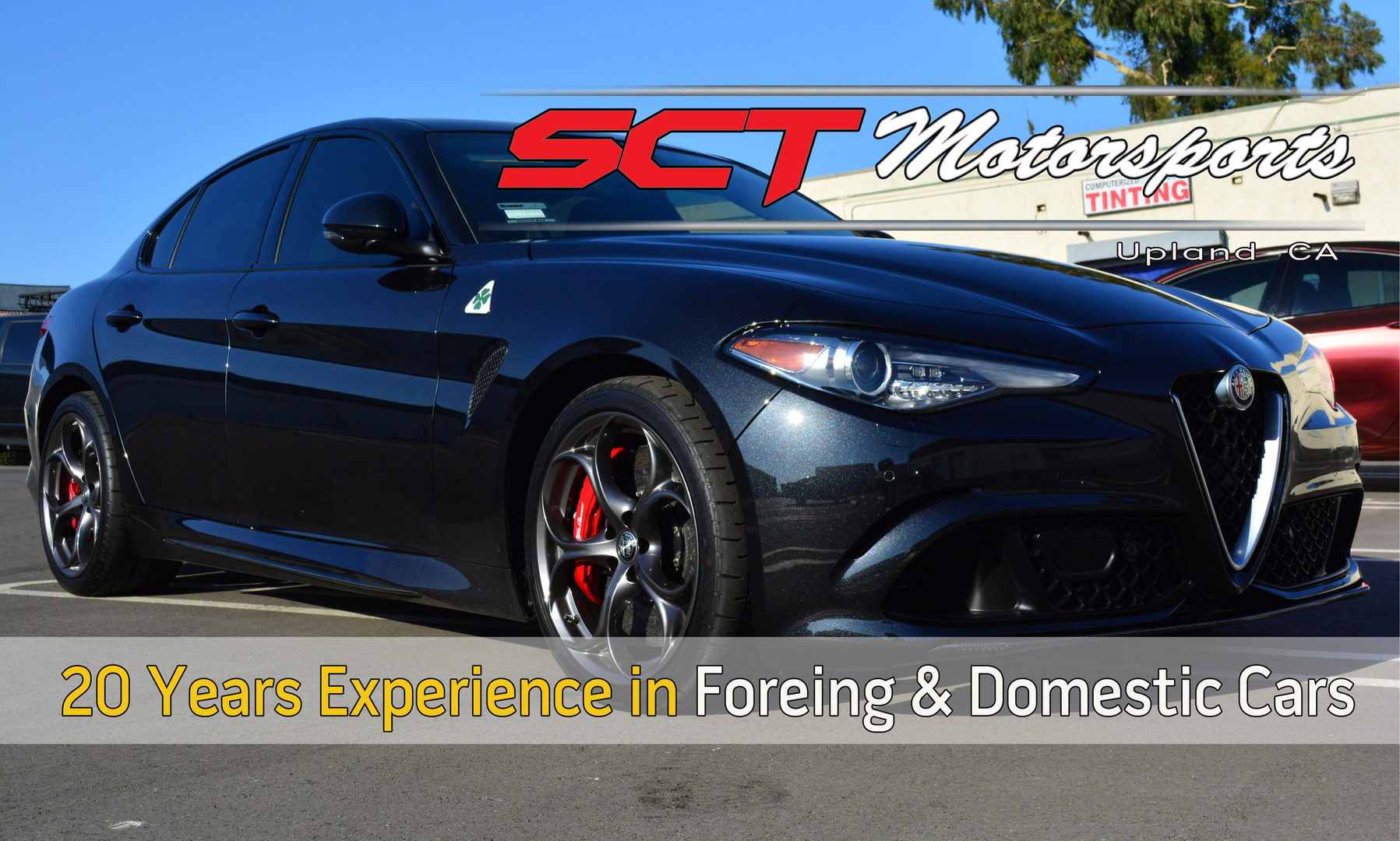 So Cal Tint Upland CA Auto Window Tint Paint Protection clear bra