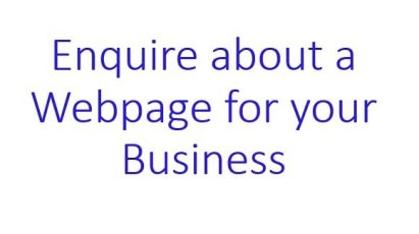 Enquire about Webpage for your business in Radcliffe