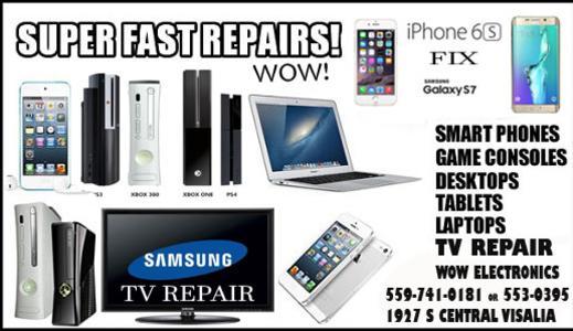 wow electronics repair home - Mobile Tv Repair