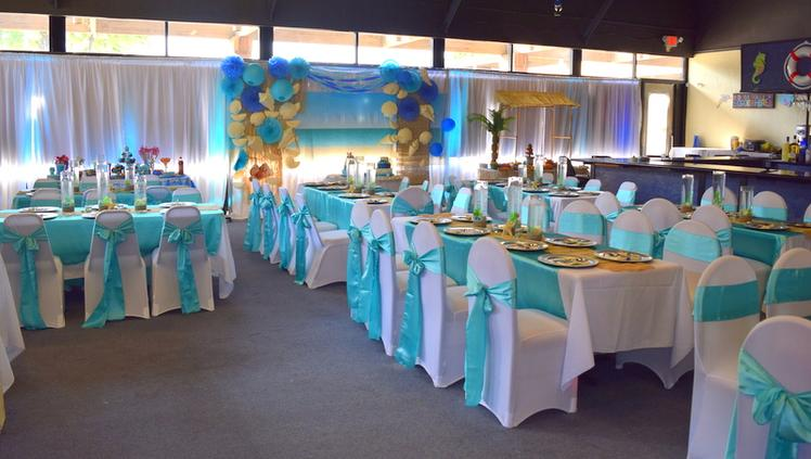 Beach Theme Sweet 16