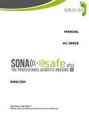HC SonaSafe Manual