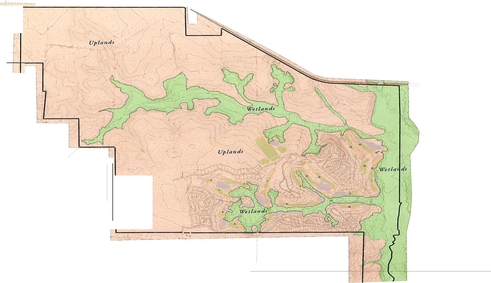 Home - Florida uplands map