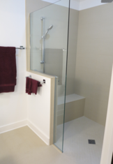 Curbless Shower stall
