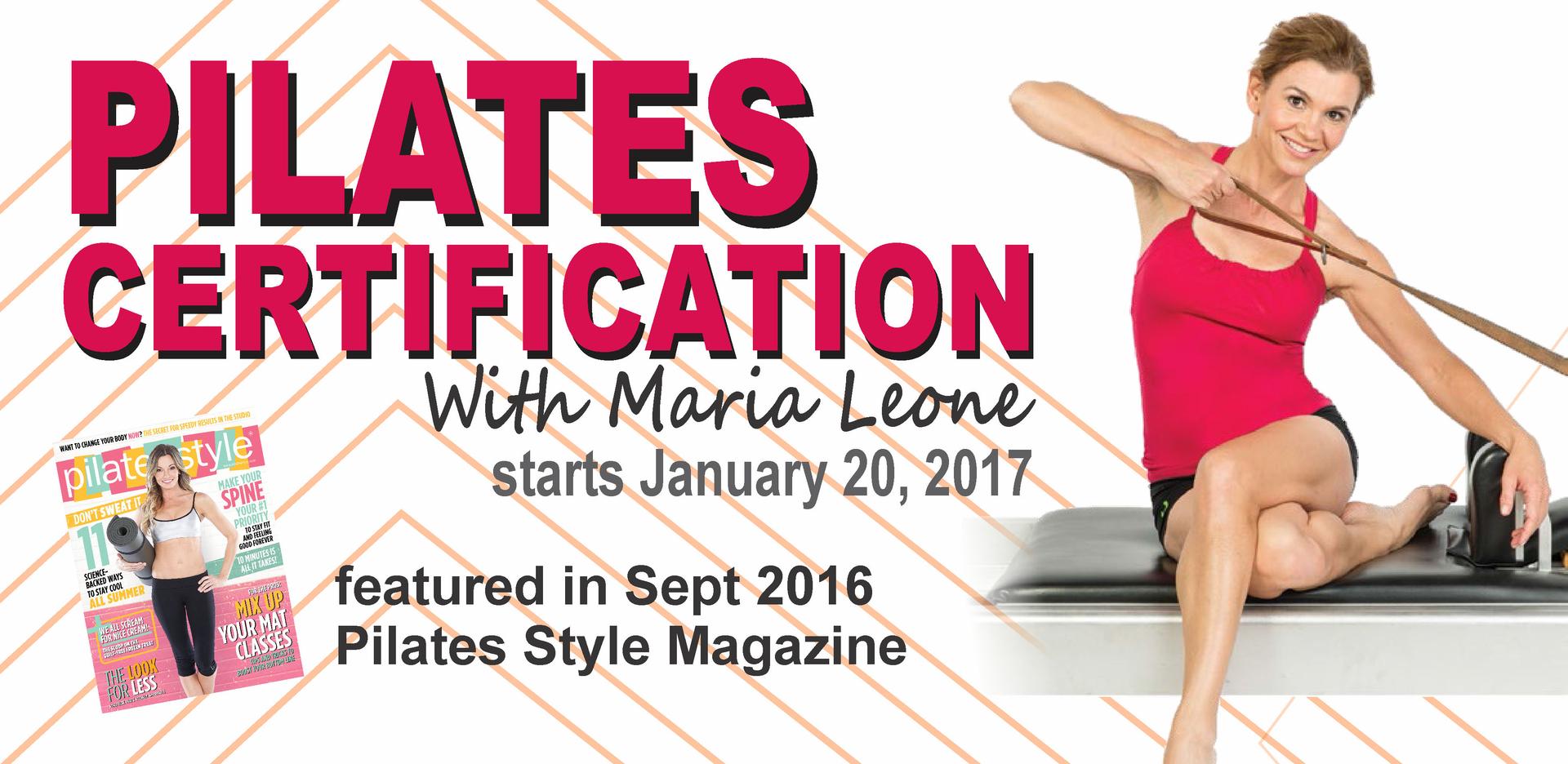 Pilates certification pilates teacher training xflitez Choice Image