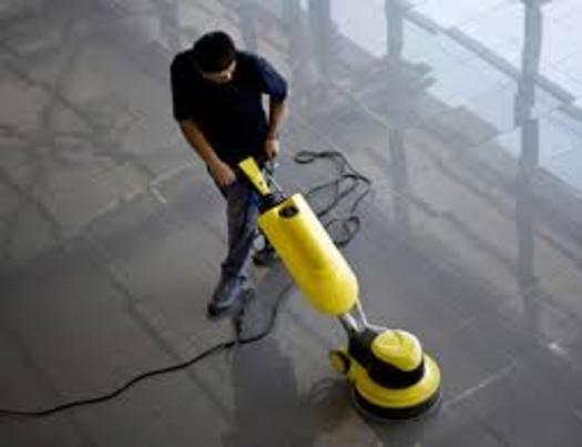 FLOOR BUFFING SERVICES FROM MGM Household Services