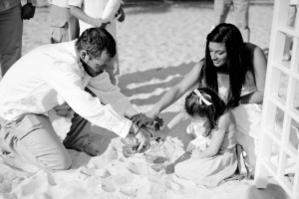 Sand Blending Ceremonies by Southernmost Photography