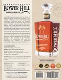 Bower HIll Barrel Strength sell sheet